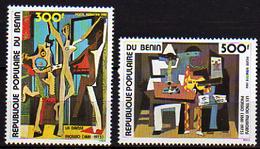 Bénin PA  N° 298 / 99 X 100è Ann. De La Naissance De Pablo Picasso;  Les 2 Valeurs Trace De Charnière Sinon TB - Bénin – Dahomey (1960-...)