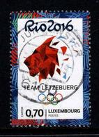 Luxemburg, Yv 2032 Jaar 2016, Gestempeld, Zie Scan - Luxembourg