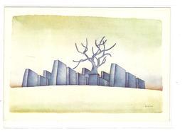 FOLON - VILLE BLEUE 1971 - Peintures & Tableaux