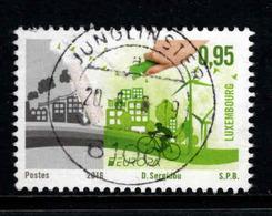 Luxemburg, Yv 2035 Jaar 2016, Europa Cept, Think Green, Prachtig Gestempeld, Zie Scan - Luxembourg