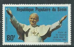 Bénin PA  N° 301 X Visite Du Pape JeanPaul II Trace De Charnière Sinon TB - Bénin – Dahomey (1960-...)