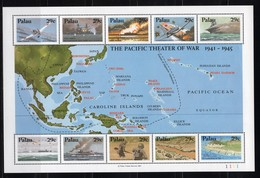 PALAU  - 1991 Pacific Theatre In Second World War  M521 - Palau