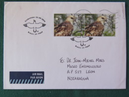 Singapore 2016 FDC Cover To Nicaragua - Birds Of Prey - Singapour (1959-...)