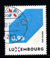 Luxemburg, Yv 2049 Jaar 2016,   Gestempeld, Zie Scan - Luxembourg