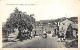 Liege Luik   Stoumont Sur Amblève   La Grand Rue   Motorfiets Moto Met Zijspan     I 4805 - Stoumont