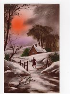 939 - BONNE ANNEE - Paysage D'hiver - Nouvel An
