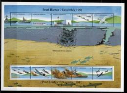 ANTIGUA & BARBUDA  - 1991 The 50th Anniversary Of The Japanese Attack On Pearl Harbor  M522 - Antigua Et Barbuda (1981-...)