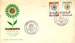 TURKEY  EUROPA CEPT 1964  FDC - 1964