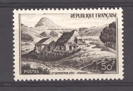 France  :  Yv  843a   **   Brun Noir - France