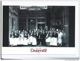 Paris IX - Brasserie Le Bouillon Chartier, L'eternel Parisien Rue Du Faubourg Montmartre - Cpm état Neuf - Bar, Alberghi, Ristoranti