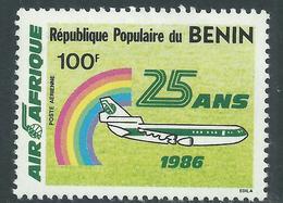 """Bénin PA  N° 362 X 25è Anniversaire De La Cie """"Air Afrique"""",  Trace De Charnière Sinon TB - Bénin – Dahomey (1960-...)"""