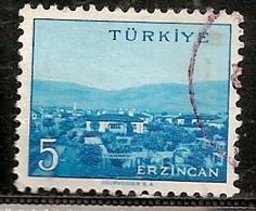TURQUIE    N°   1451   OBLITERE - 1921-... République