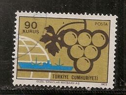 TURQUIE    N°   2083   OBLITERE - 1921-... République
