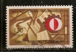 TURQUIE    N°   1809   OBLITERE - 1921-... République