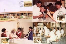 Venda - 1988 Nurses' Training College Maxi Card Set # SG 175-178 , Mi 175-178 - Venda