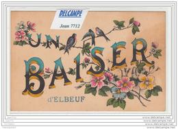3257 AK/PC/CPA UN BAISER D ELBEUF/HIRONDELLES - Elbeuf