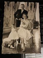 19831) MONACO PRINCE RAINIER III PRINCESSE GRACE ALBERT CAROLINE NON VIAGGIATA - Familles Royales
