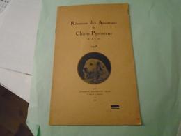 REUNION DES AMATEURS  DE CHIENS PYRENEENS  1948 Standards, Résultats, Berger Des Pyrénées, Patou ... - Midi-Pyrénées