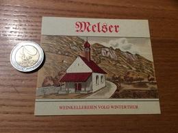 Etiquette Vin Suisse «Melsen - WEINKELLEREIEN VOLG WINTERTHUR» - Blancs