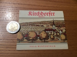 Etiquette Vin Suisse «Kirchdorfer - BEERLI - VOLG WINTERTHUR» - Blancs