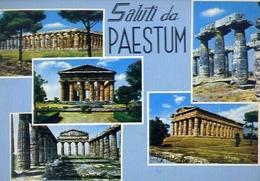 Saluti Da Paestum - Salerno - 84 - Formato Grande Viaggiata – E 9 - Salerno