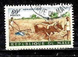 MALI 29° 60f Brun, Vert Et Bleu Artisanat, élevage Et Agriculture Labourage (10% De La Cote + 015) - Mali (1959-...)