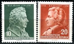 DDR - Mi 510 / 511 - ** Postfrisch (A) - 10-20Pf   Wolfgang Amadeus Mozart - [6] République Démocratique