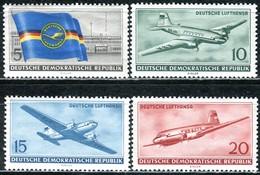 DDR - Mi 512 / 515 - ** Postfrisch (A) - Ziviler Luftverkehr In Der DDR - [6] République Démocratique