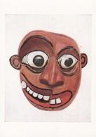 Postcard Ceylon Sri Lanka Painted Wooden Mask Worn By Devil Dancers [ British Museum ] My Ref  B23249 - Sri Lanka (Ceylon)