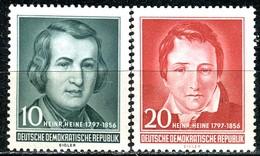 DDR - Mi 516 / 517 - ** Postfrisch (A) - 10-20Pf    Heinrich Heine - [6] République Démocratique