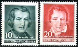 DDR - Mi 516 / 517 - ** Postfrisch (B) - 10-20Pf    Heinrich Heine - [6] République Démocratique