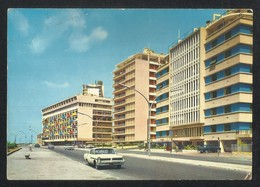 Lebanon Beirut Raouche Quarter With Modern Buildings Picture Postcard View Card - Lebanon