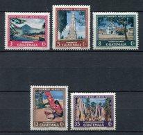 Guatemala 1950. Yvert A 168-72 ** MNH. - Guatemala