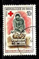 MALI 80° 10f Rose, Ardoise, Brun Et Carmin Service De Santé (10% De La Cote + 015) - Mali (1959-...)