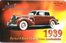 INDONESIA - Rolls Royce Laudaulette 1939, Bebas Prepaid Card Rp.20000, Exp.date 01/04/05, Used - Indonesia