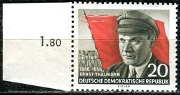 DDR - Mi 520 A - ** Postfrisch (C) - 20Pf    Ernst Thälmann - [6] République Démocratique