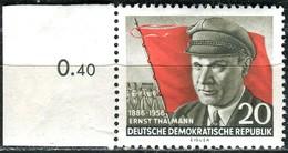 DDR - Mi 520 A - ** Postfrisch (D) - 20Pf    Ernst Thälmann - [6] République Démocratique