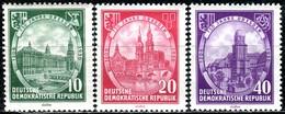 DDR - Mi 524 / 526 - ** Postfrisch (B) - 750 Jahre Dresden - [6] République Démocratique