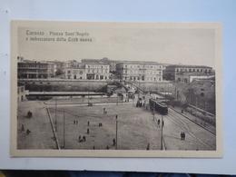 L630 CARTOLINA   TARANTO NON VIAGGIATA  TRAM BUS - Taranto
