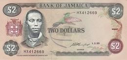 JAMAICA 2 DOLLARS 1993 P-69e [JM225h] - Jamaica