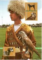 Turkmenistan.2013 Falcon, Dogs. S/S Of 3v X T Michel # BL35(287-89) - Turkménistan