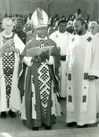 Photo Zaïre Kinshasa. Cardinal Malula 1988 Photo-service PP. Blancs - Afrique