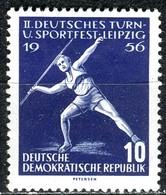 A12-51-1) DDR - Mi 531 - ** Postfrisch (A) - 10Pf   Turn- Und Sportfest 56 - [6] République Démocratique