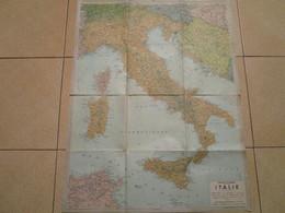 ITALIE - Carte BLONDEL-LA ROUGERY - Echelle 1/2.000.000 - Cartes Géographiques