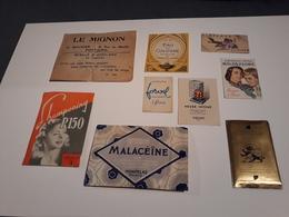 Lot D'objets Autour De La Beauté - Parfum- Shampooing - Savon - Perfume - Shampoo - Soap - Produits De Beauté
