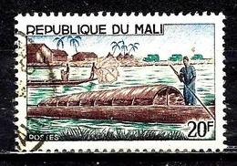 MALI 92° 2f Vert, Bleu-gris Et Violet-brun Pêche Commercilisation(10% De La Cote + 015) - Mali (1959-...)