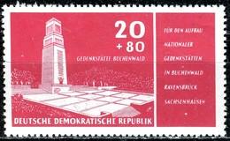 DDR - Mi 538 - ** Postfrisch (A) - 20+80Pf   Buchenwald - [6] République Démocratique