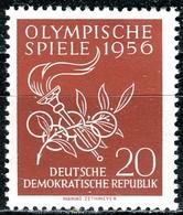 A12-51-2) DDR - Mi 539 - ** Postfrisch (A) - 20Pf   Olympische Sommerspiele 56 - [6] République Démocratique