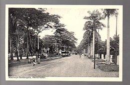 Netherlands Indies Railway Track With Train At Woonwijk Gondangdia Weltevreden ± 1910 (14-22) - Indonesia