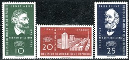 DDR - Mi 545 / 547 - ** Postfrisch (A) - 20Pf   110 Jahrer Carl-Zeiss-Werke Jena - [6] République Démocratique